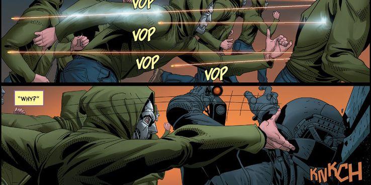 Доктор Дум жестоко убил злодея Marvel