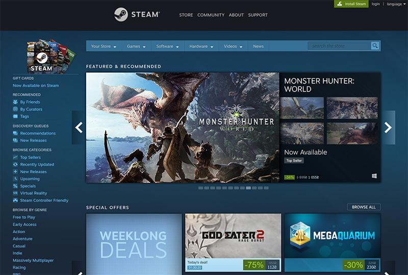 Стал ли Epic Games Store конкурентом Steam?