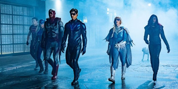 Будущие сериалов DC Universe выглядит мрачно