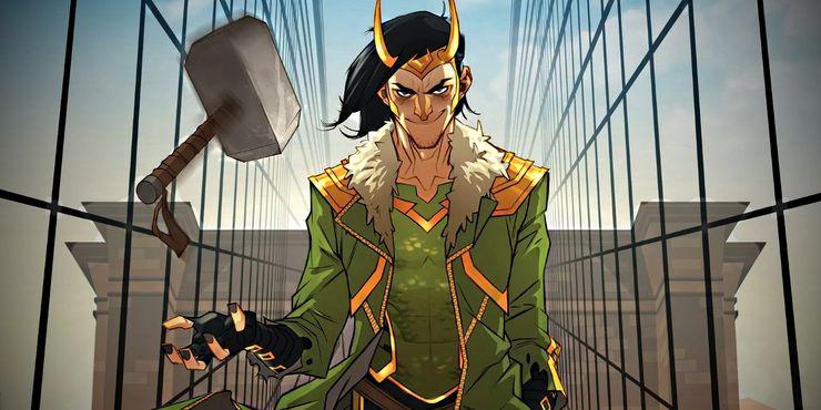 Локи на самом деле сын Хелы в киновселенной Marvel