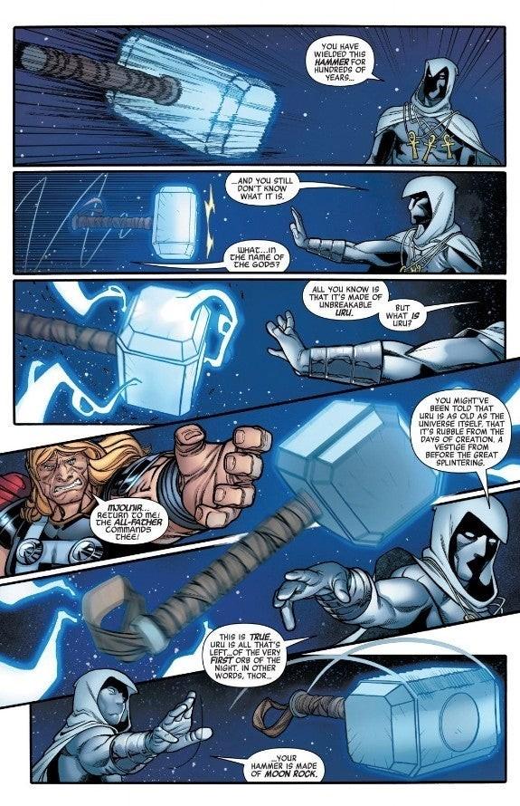 Комикс раскрыл истинное происхождение молота Тора Мьельнир