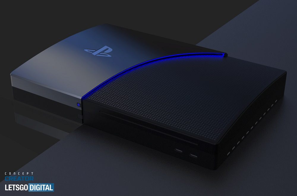 Новый возможный дизайн PS5