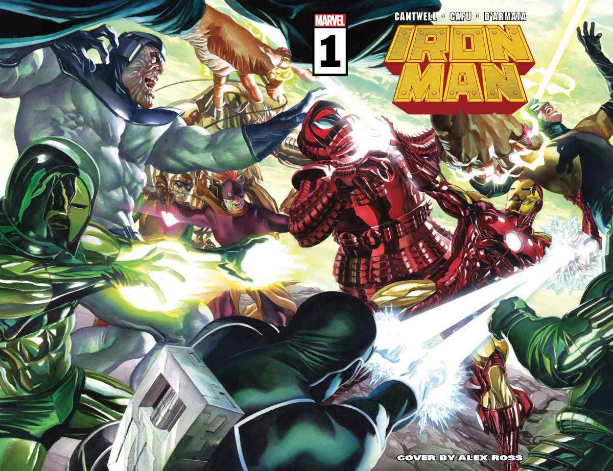 Marvel раскрыли новый костюм Железного человека