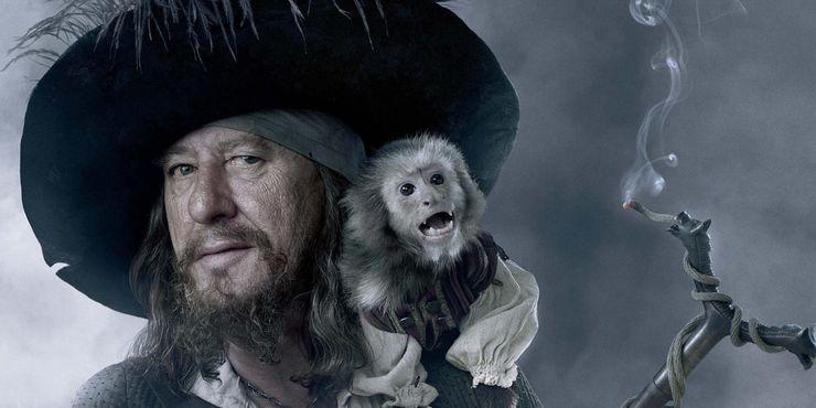 Почему обезьянка Джек все еще нежить в «Пиратах Карибского моря»