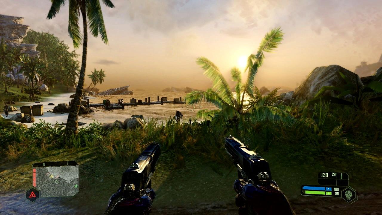 Скриншоты и трейлер ремастера Crysis для Nintendo Switch