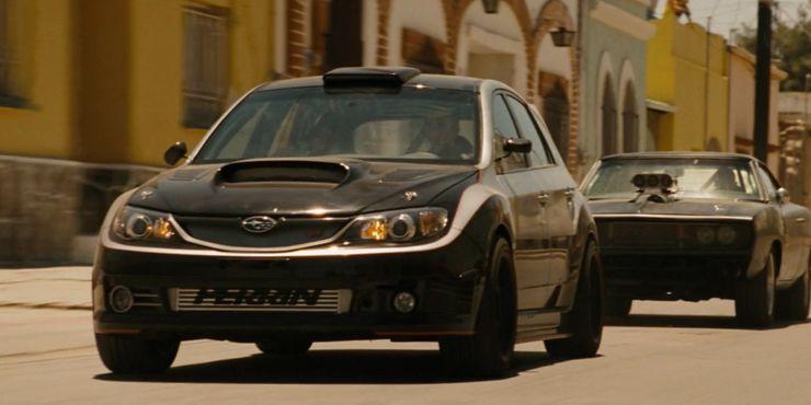 На каких машинах ездил Брайан О'Коннор в серии «Форсаж»
