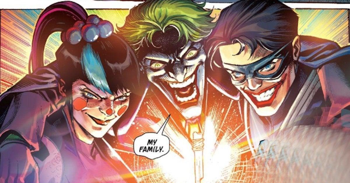 Найтвинг стал сыном Джокера во вселенной DC