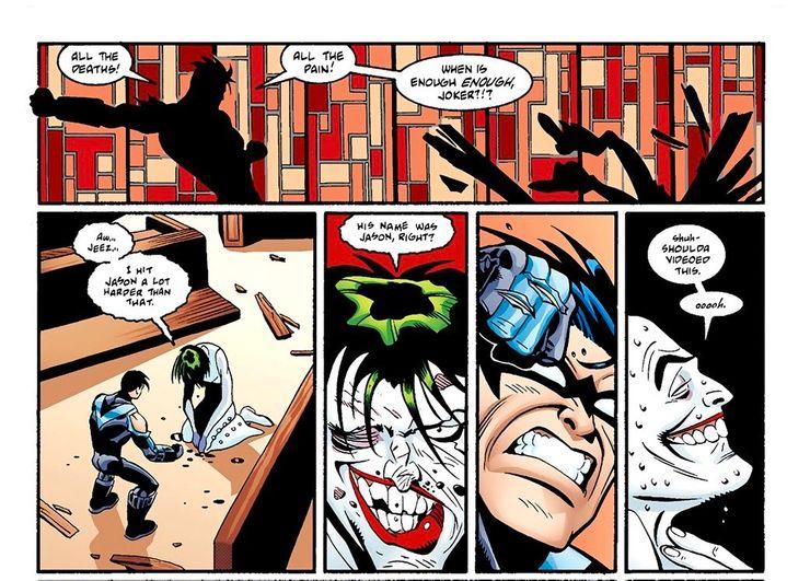 Найтвинг убил Джокера во вселенной DC