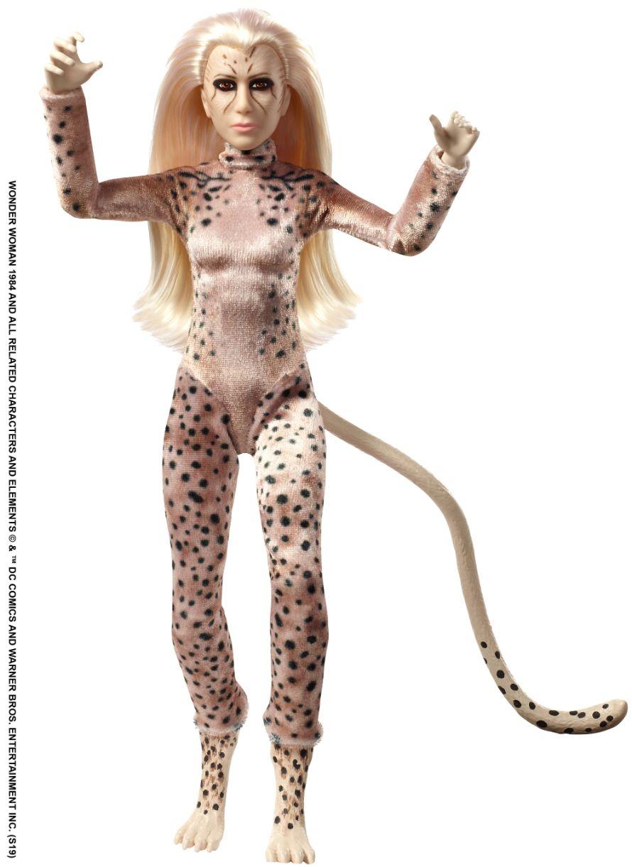 Финальный дизайн Гепарды из «Чудо-женщины 1984»