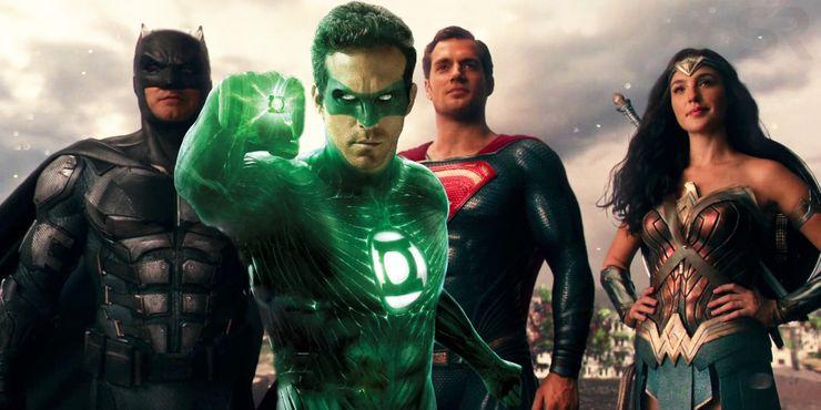 Объяснено появление Райана Рейнольдса в роли Зеленого фонаря в «Лиге справедливости»