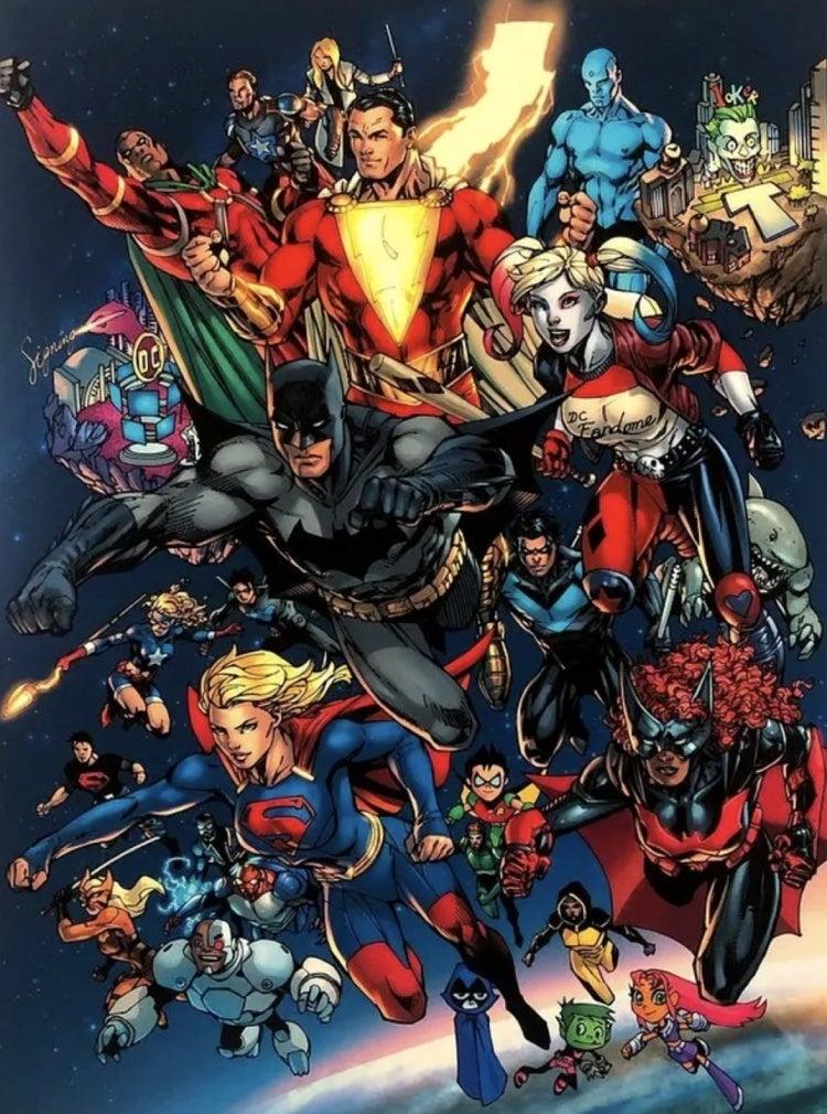 Новая Бэтвумен на постере DC FanDome