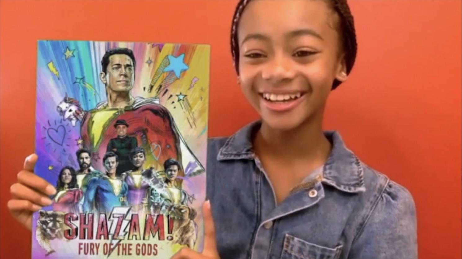 Первый постер фильма «Шазам 2: Ярость богов» с DC FanDome