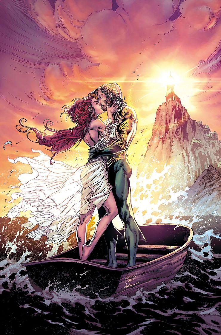 Аквамен и Мера наконец поженились во вселенной DC