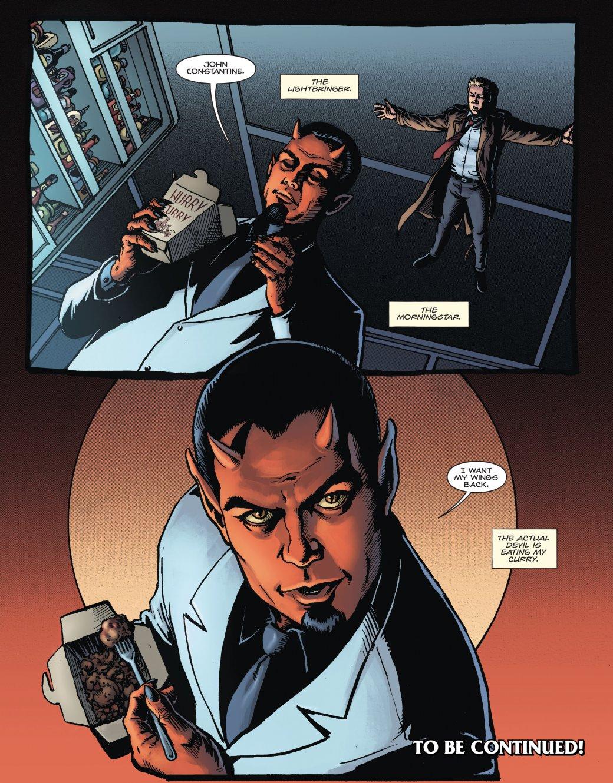 Люцифер изменил внешность во вселенной DC