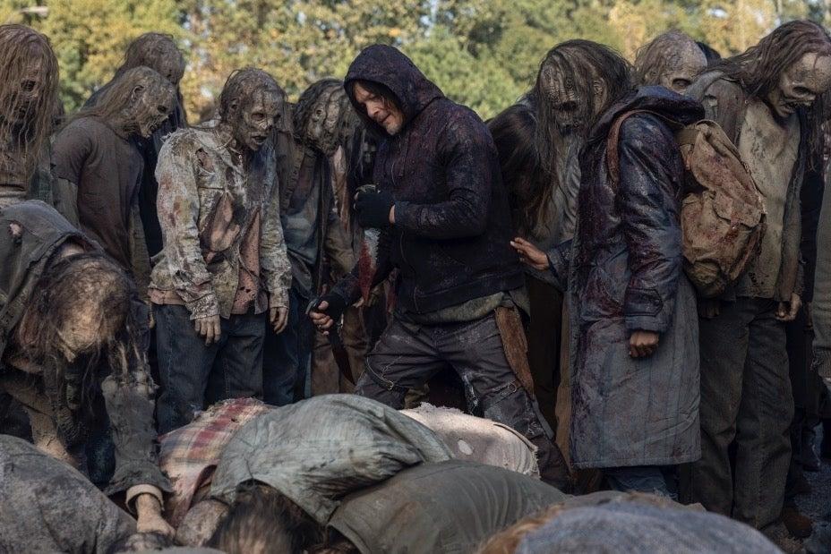 Новые кадры финала 10 сезона «Ходячих мертвецов» тизерят войну