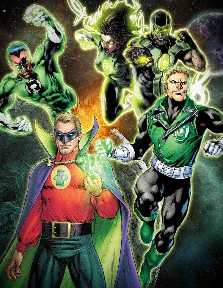 Первые детали и постер сериала «Зеленый фонарь» для HBO Max