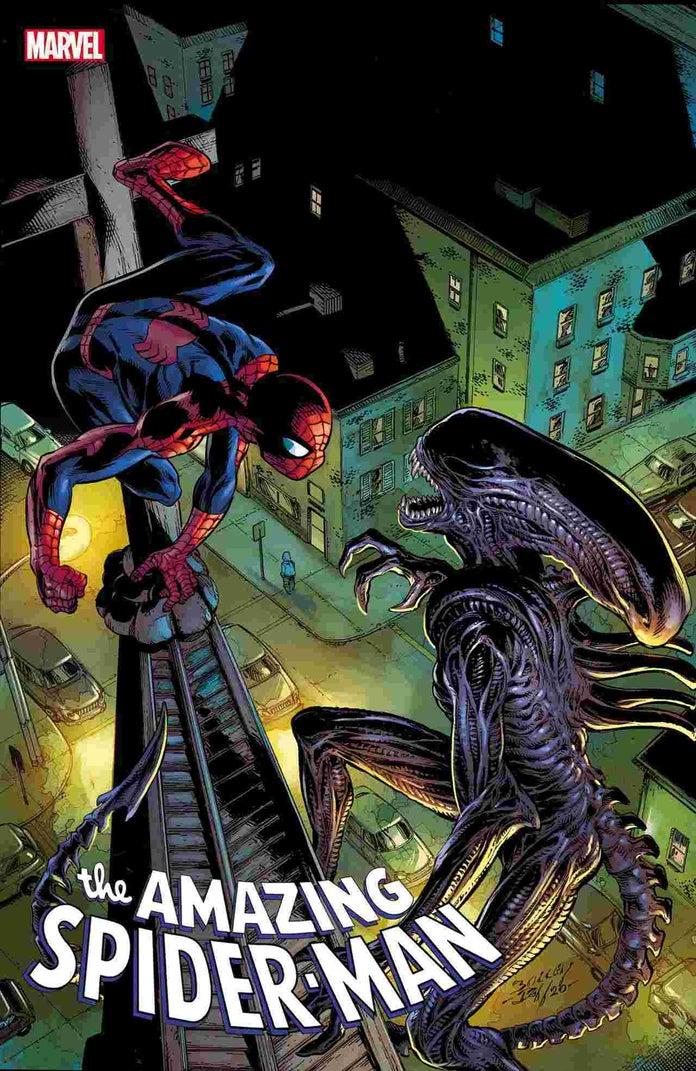 Первый взгляд на кроссовер «Marvel против Чужого»