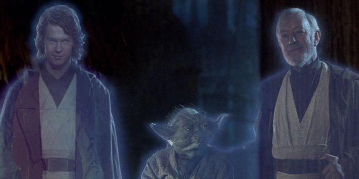 Объяснено, почему Энакин Скайуокер стал Призраком Силы в «Звездных войнах 6»