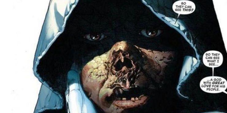 Раскрыто, как выглядит Доктор Дум без маски. Ужасно