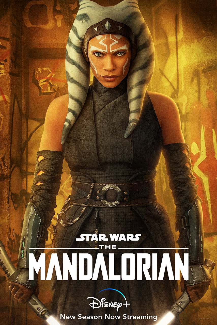 Асока Тано на новом постере 2 сезона «Мандалорец»