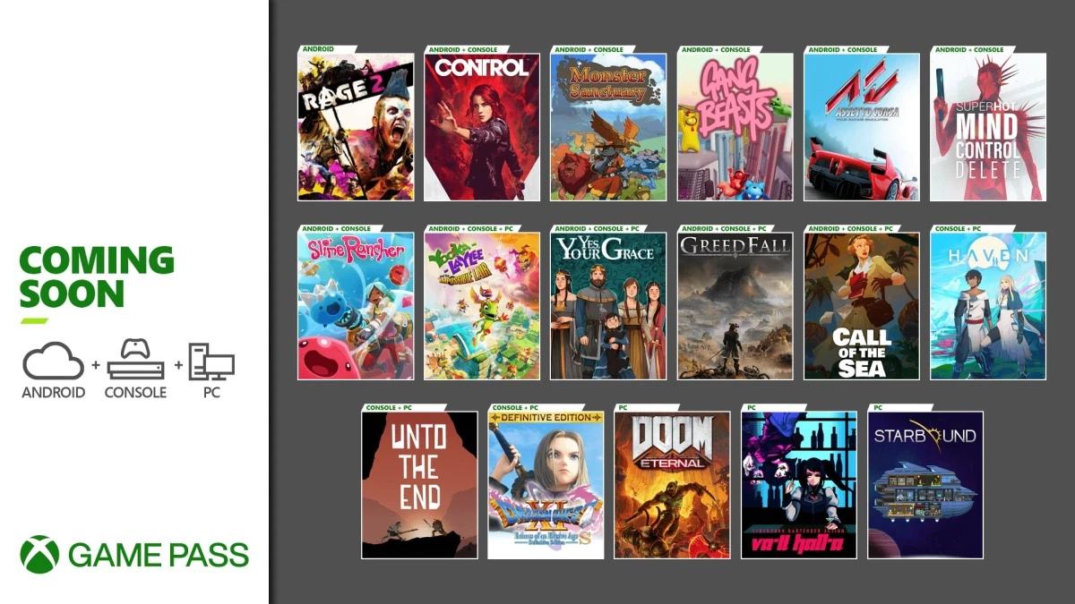 Control появится в Xbox Game Pass в декабре