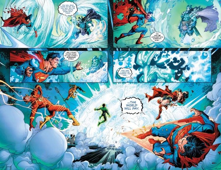 DC представили нового опасного злодея Лиги справедливости
