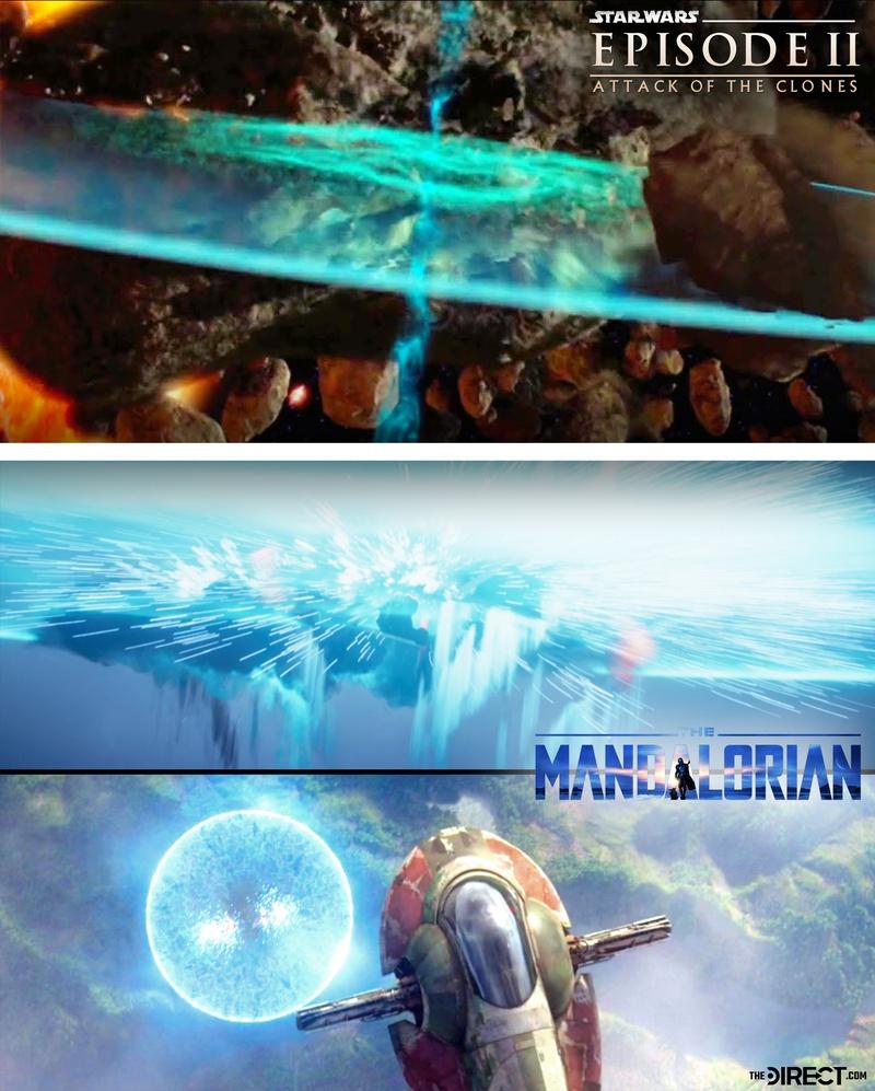 Крутое оружие из фильма «Звездные войны» появилось в «Мандалорце»