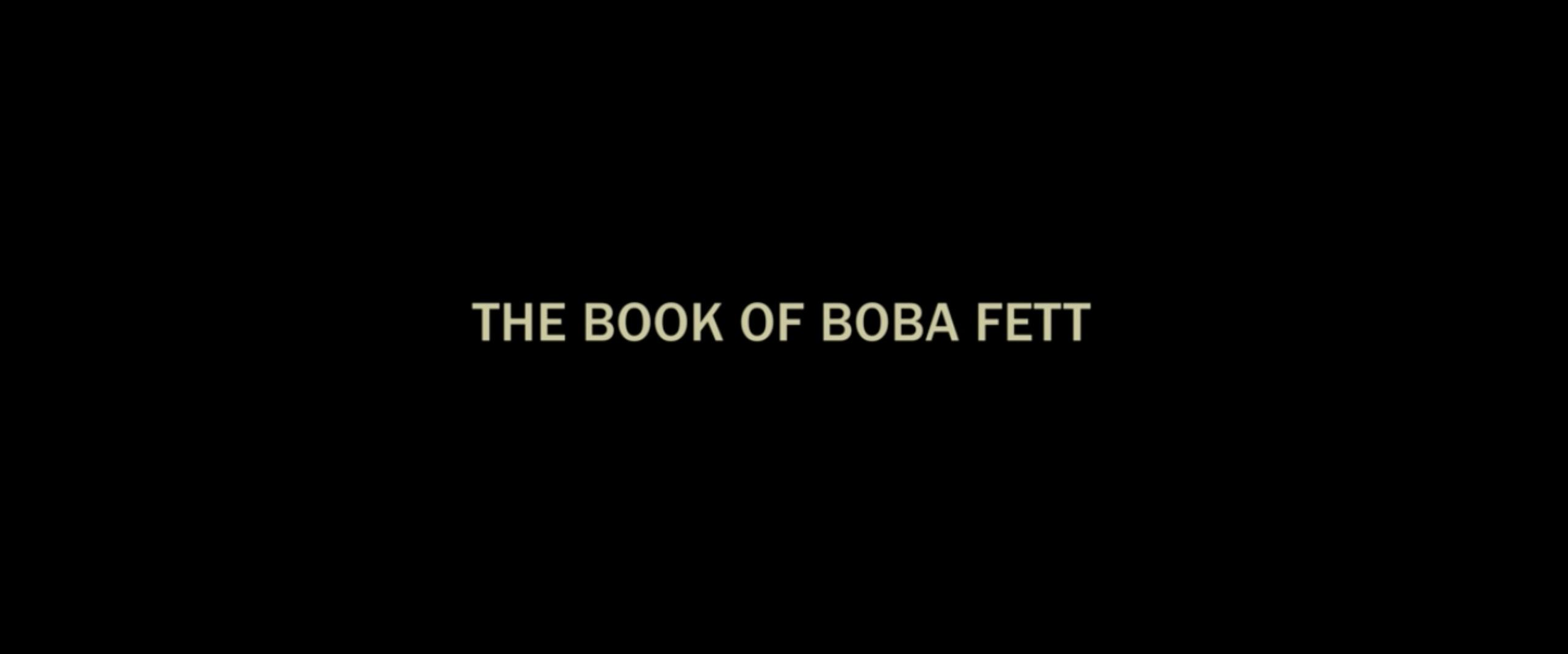 Что такое «Книга Бобы Фетта» (The Book of Boba Fett)?