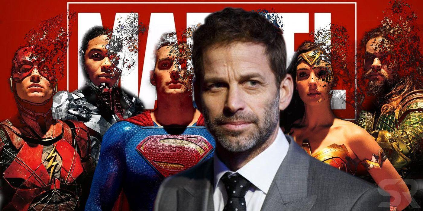 Зак Снайдер считает DC популярней Marvel
