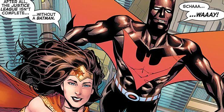 Бэтмен будущего стал членом Лиги справедливости