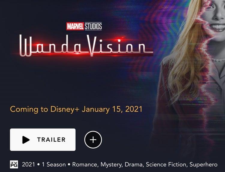 Раскрыт неожиданный возрастной рейтинг «ВандаВижен» от Marvel