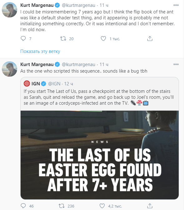 Игроки нашли разгадку пасхалки в The Last of Us, которая оказалась багом