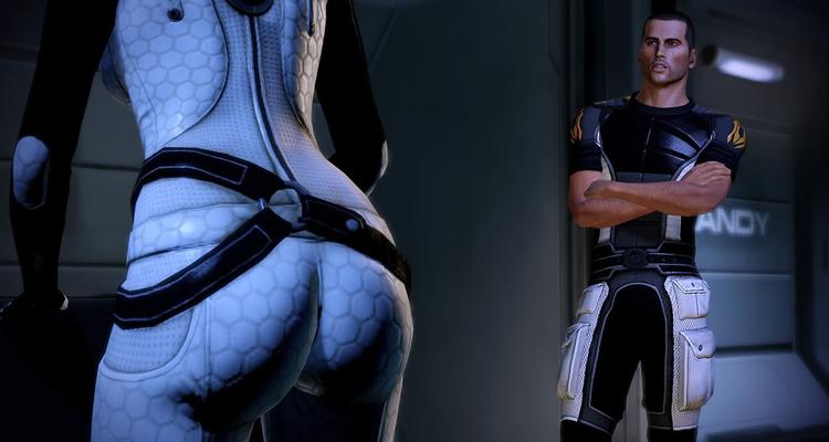 Некоторые пикантные сцены изменили в Mass Effect Legendary Edition