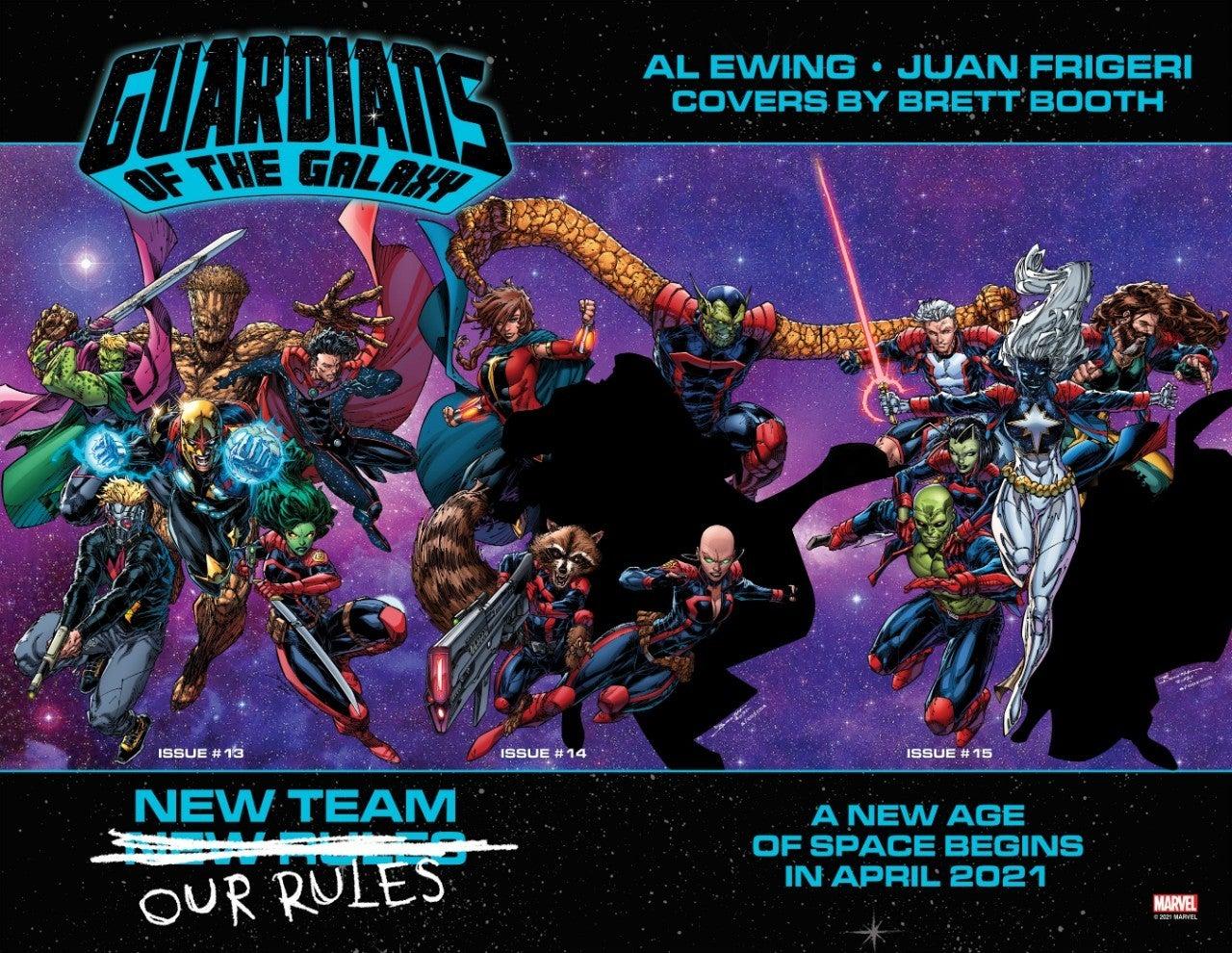 Marvel тизерят новый состав команды Стражей галактики