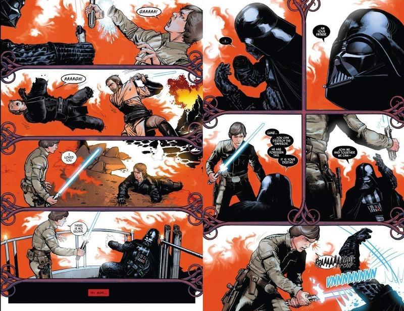 Раскрыта альтернативная сцена встречи Дарта Вейдера с Люком в «Звездных войнах»