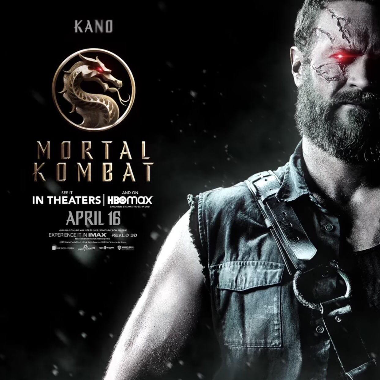 Первый трейлер фильма Mortal Kombat выйдет завтра. Новые постеры