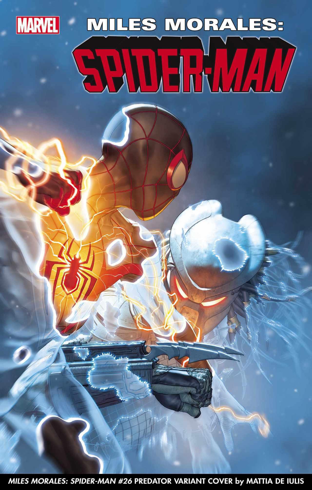 Хищник против героев Marvel на новых обложках