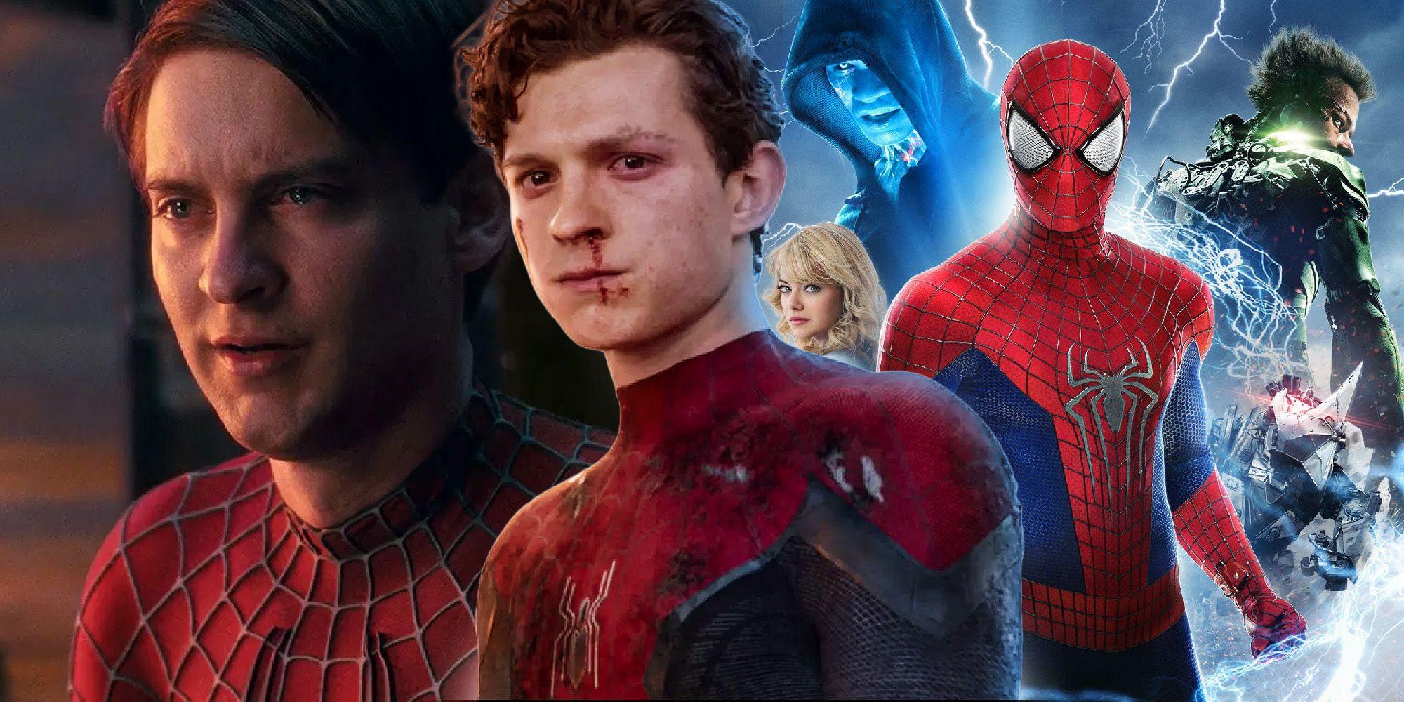 Объяснено, почему «Человек-паук 3» называется «Нет дороги домой»