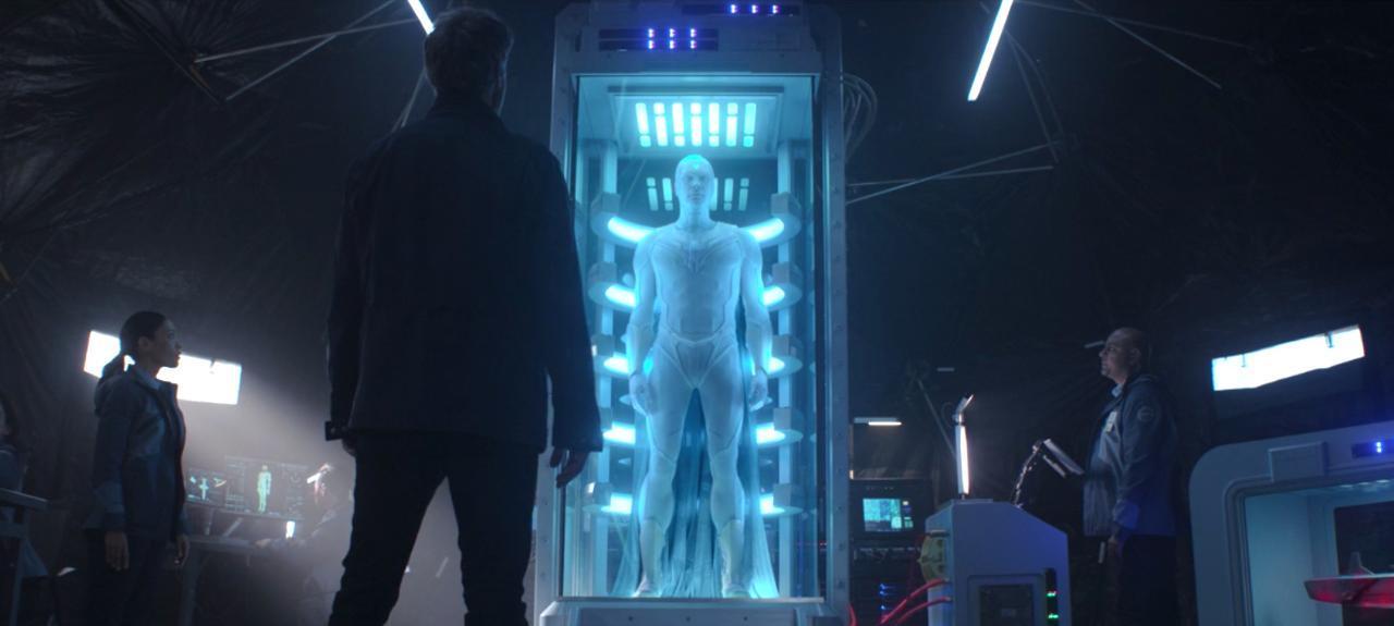 Сцена после титров 8 серии «ВандаВижен» раскрывает изменения во Мстителе