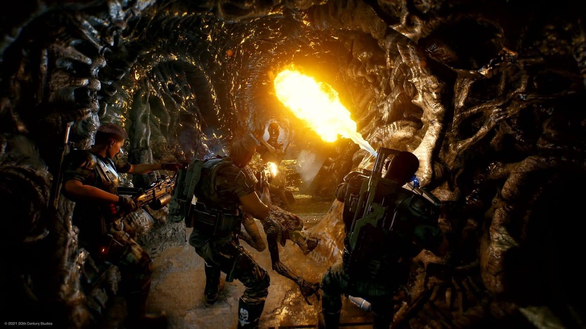 Появился геймплей игры  «Чужой» - Aliens: Fireteam. Выход скоро