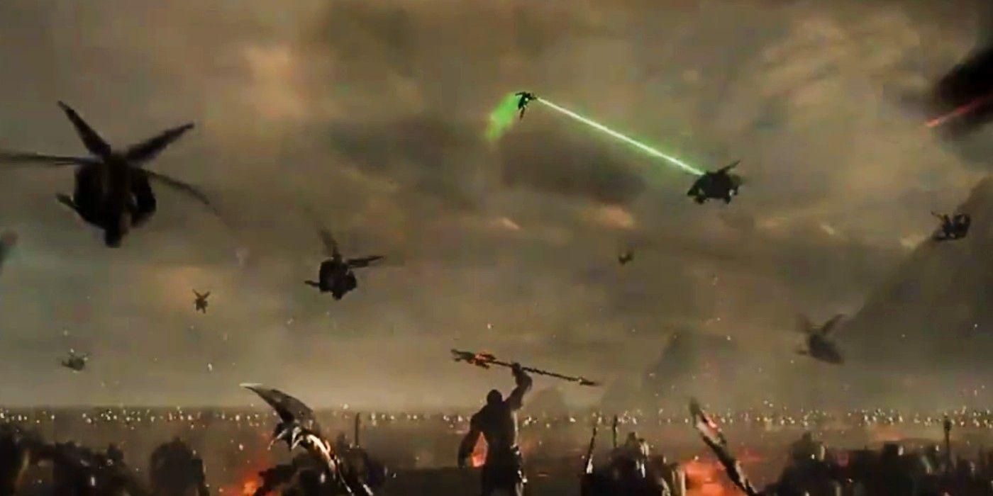 Зеленый фонарь появился в трейлере «Лиги справедливости» Зака Снайдера