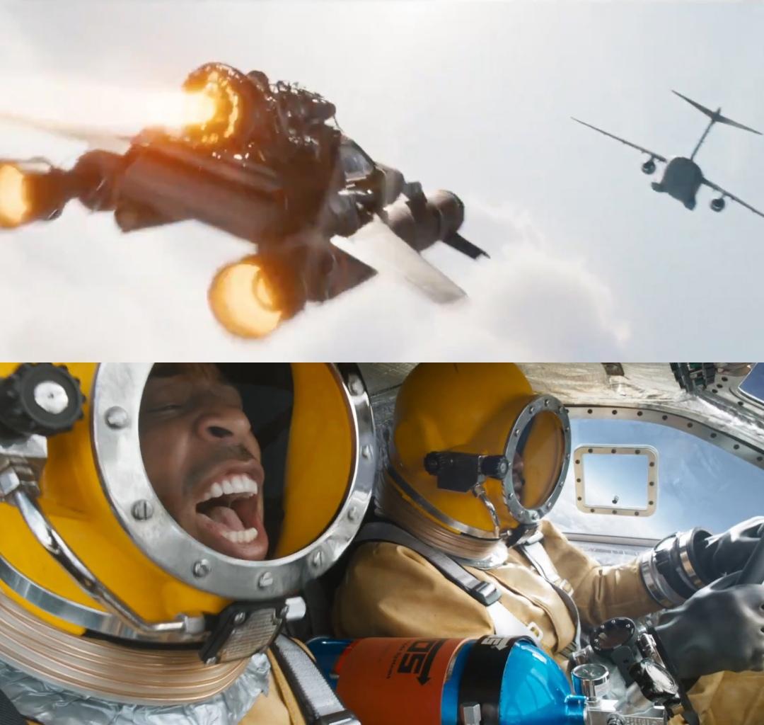 Первый взгляд на полет в космос из «Форсажа 9»