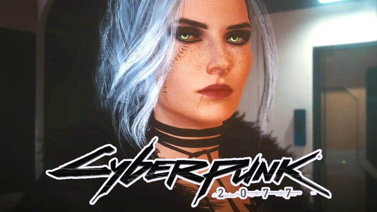 Цири из «Ведьмака» добавили в Cyberpunk 2077 в помощью мода