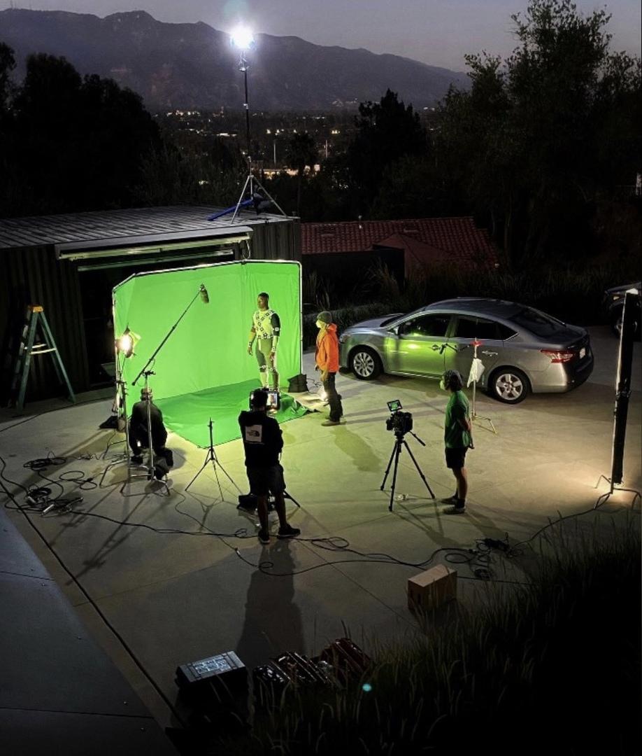 Показано, как снимали сцену с Зеленым фонарем для «Лиги справедливости Зака Снайдера»