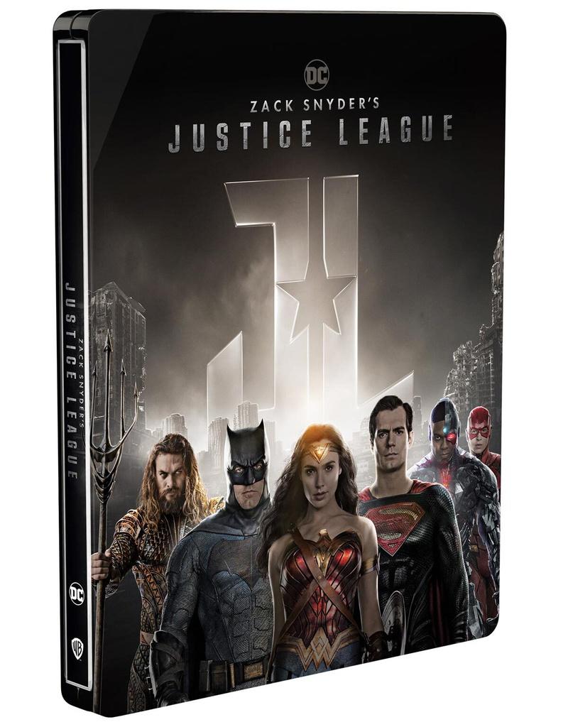 Обнаружена ошибка на обложке «Лиги справедливости Зака Снайдера»