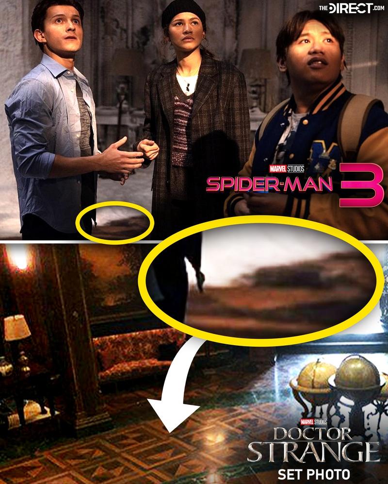 Тизер таинственной локации в «Человеке-пауке 3: Нет пути домой»