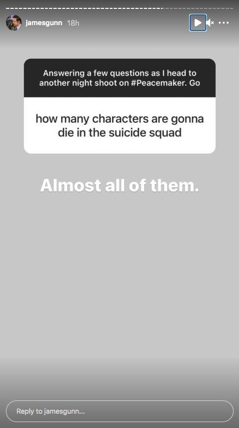 Почти все персонажи умрут в «Отряде самоубийц: Миссия навылет»