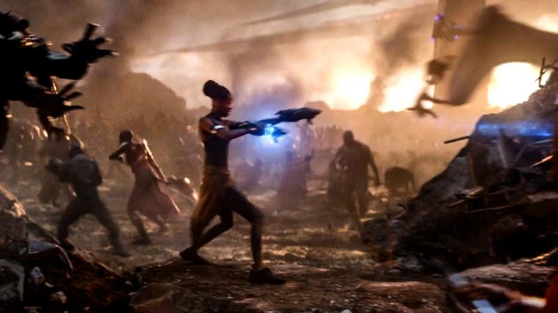 Раскрыта альтернативная сцена «Мстителей: Финал» с Черной пантерой
