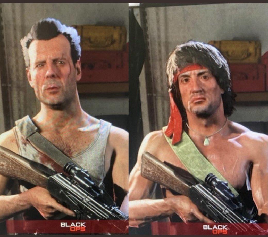 Рэмбо официально появится в  Call of Duty: Warzone