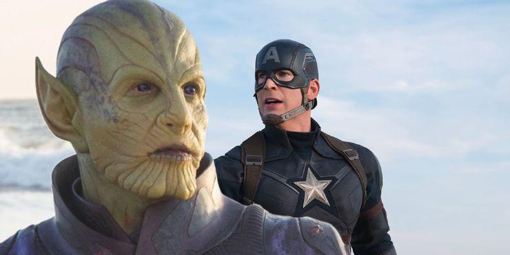 Старый Стив Роджерс мог быть Скруллом в «Мстителях: Финал»